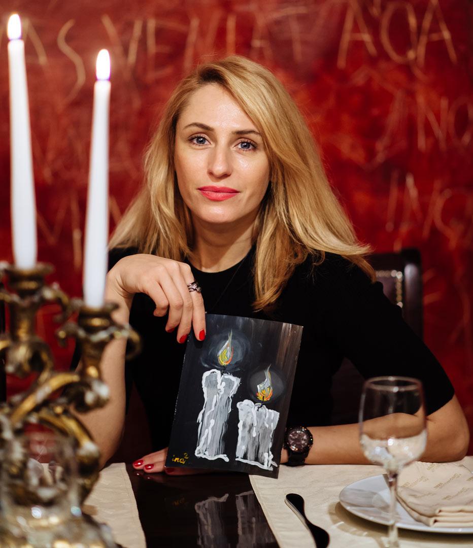#радуйся с художницей Екатериной Маланиной